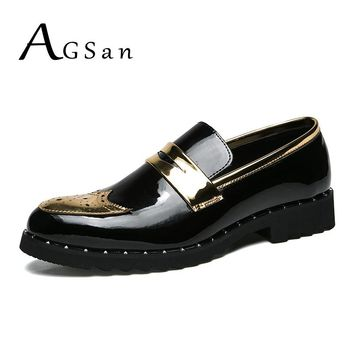 AGSan Men Brogue Shoes