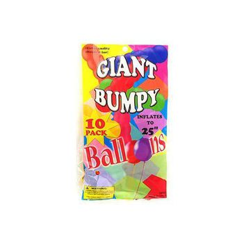 Giant Bumpy Balloons (10 Pack) (pack of 24)