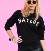 Golden Haters Sweater