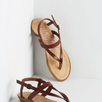 Boho Gait Minds Think Alike Wedge in Hickory