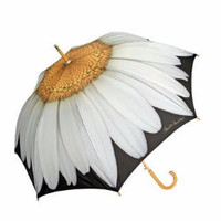 Daisy Cane Umbrella Auto Open