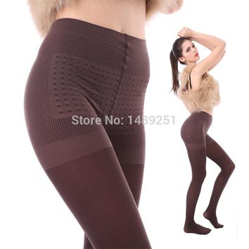 Dove Anti-hook Wire Winter Tights Women Fashion Pantyhose Velvet Stockings Upshift Slim Solid Tights wholesale 600D