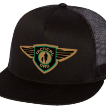TD 5-Panel Trucker Snapback Hat