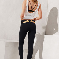 """Victoria's Secret"" The Most-Loved Yogo Legging / Golden angel wings Print Exercise Fitness Gym Yoga Running Leggings Sweatpants"