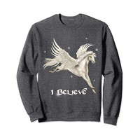 Flying White Pegasus Sweatshirt
