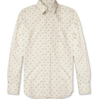 Slowear Glanshirt Slim-Fit Stitched Cotton-Blend Shirt | MR PORTER