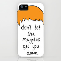 Advice from Ron Weasley iPhone & iPod Case by candysomething