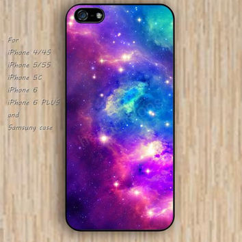 iPhone 5s 6 case colorful nebula fox phone case iphone case,ipod case,samsung galaxy case available plastic rubber case waterproof B397