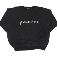 Vintage 90s Friends Crewneck Sweatshirt Mens Size Large