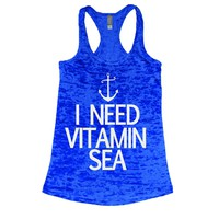 Vitamin Sea Burnout Tank Top