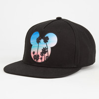 Neff Disney Collection Palms Mickey Mens Snapback Hat Black One Size For Men 27064710001