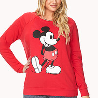 Mickey Mouse Raglan Sweatshirt