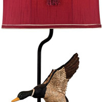0-002365>Duck Hunt 1-Light 3-Way Accent Lamp Whitsun