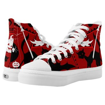 Halloween High-Top Sneakers