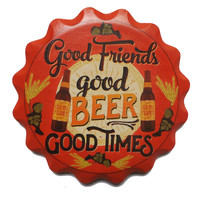Ceramic Coaster Gift Sets- Beer With Friends