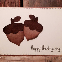 Adorable Homemade Thanksgiving Card