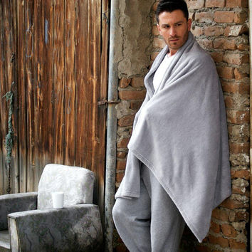 Gray Wellsoft Blanket,Antistatic Blanket,Winter Blanket,Cozy blanket,Warm blanket,Grey,Soft Blanket,