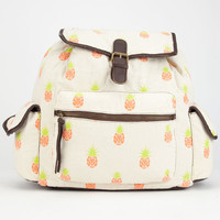 T-Shirt & Jeans Pineapple Backpack Ivory One Size For Women 25150216001