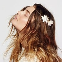Free People Pearlized Floral Halo