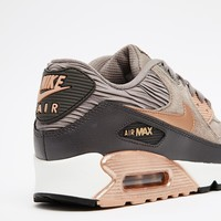 Nike Air Max 90 Grey and Bronze Trainers