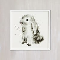 Bunny 1 Wall Art by Minted®