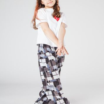 Kids Makena Black Harem Pants