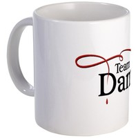 Vampire Diaries Team Damon Mug Mug        on CafePress.com