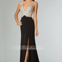 [US$239.89]Sleeveless Evening Gown With Open Back(#990119)