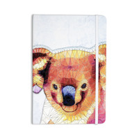 "Ancello ""Cute Koala"" Orange Pink Everything Notebook"