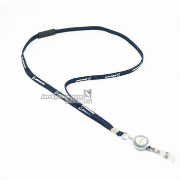 Boeing Lanyard  for Pliot Flight Crew 's License ID Card Holder Boarding Pass String Sling Metal Buckle Personality Unique Gift