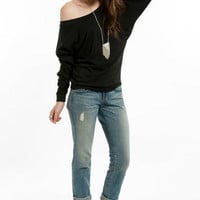 Layla Off Shoulder Sweater $29
