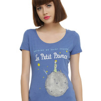 The Little Prince Book Cover Girls T-Shirt