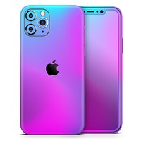 Neon Holographic V1 - Skin-Kit for the Apple iPhone 11, 11 Pro or 11 Pro Max