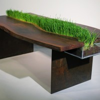 Green table by Emily Wettstein