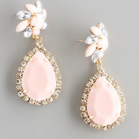Blushing Rose Earrings