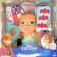 Disney Frozen Anna Styling Head