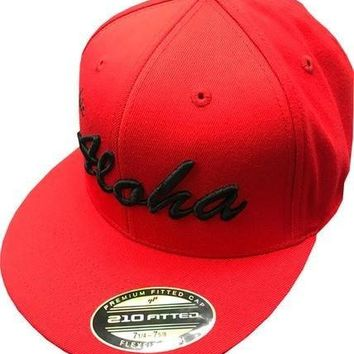 """HIC """"Aloha"""" Fitted Hat"""