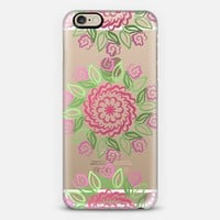 Centered in Spring (transparent) iPhone 6 case by Lisa Argyropoulos | Casetify