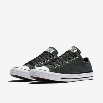 the converse chuck taylor all star washed chambray low top unisex shoe