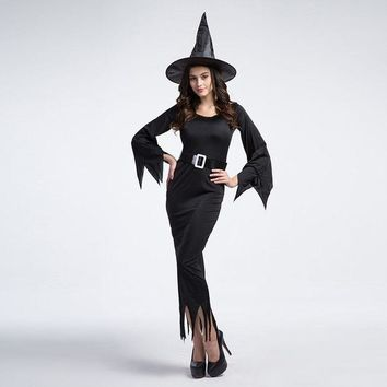 CREYUG3 Witch Cosplay Anime Cosplay Apparel Halloween Costume [9220657412]