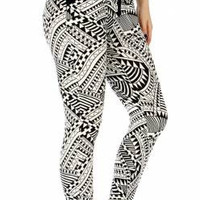 Solid Band Jogger Pants  in Sizes S-XL in 3 Different Patterns