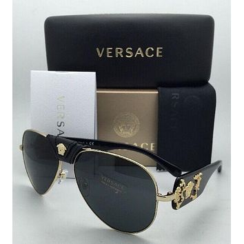 Black Versace Men Women Casual Summer Sun Shades Eyeglasses Glasses Sunglasses