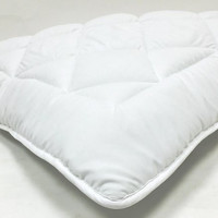 "Fully Reversible (Double Life)-1"" Down Alternative Mattress Topper / Pad- w/ Stay Tight Anchor Straps"