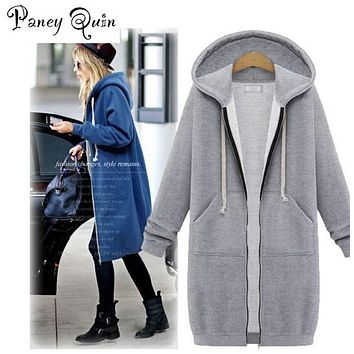 Women Hooded With Black Gown Best Quality Hip Hop Hoodies and Sweatshirts long Sleeves Design Cloak Winter Coats Outwear