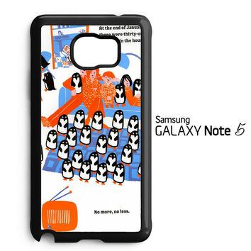 365 penguins book Y1987 Samsung Galaxy Note 5 Case