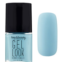 Blue Gel Look Nail Polish