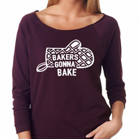 Bakers Gonna Bake Raglan Shirt