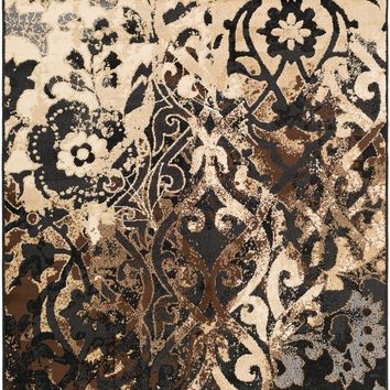 Surya Paramount Medallions and Damask Black PAR-1066 Area Rug