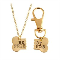 Best Friend Necklace for Dogs and Owners.