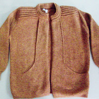 Peruvian Design Alpaca Wool Ebel Cardigan for Women.